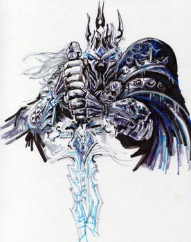 Lich King by Amwuensch