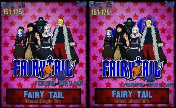 Fairy Tail Arc 15 - Grand Magic Arc FT Team B .ver by Zule21