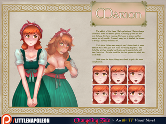 Changeling Tale - Marion Character Sheet by LittleNapoleon0