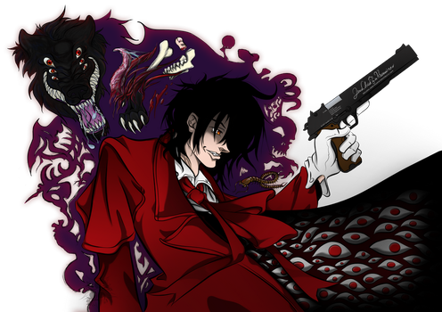 Alucard and Baskerville by HisuiKaihane