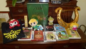 My Zelda Collection by crocheter