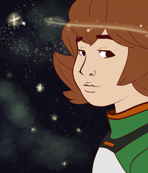 Pidge's Night Sky by Dontgiveafvck