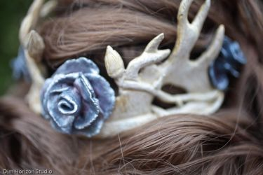 Margaery Tyrell - Purple Wedding Crown by LyddiDesign