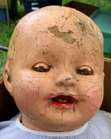 Antique Doll Head 7 Heime by Falln-Stock