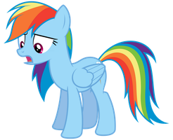 Rainbow Dash - What by bobsicle0