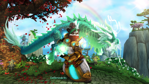 DeBenedictis Wallpaper - World of Warcraft by ginnypinnyart