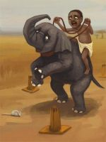 Elephant driving test by berf
