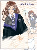 Hogwarts Student : Chantelune by fatras-yris