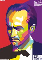 Fredo Corleone (The Godfather) on WPAP by AdamKhabibi