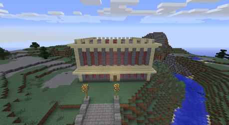 Office building in minecraft redone by yashacat