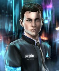 Detroit: Become Human - Connor RK800 by ZToriko