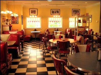Vintage Diner by come-as-you-are