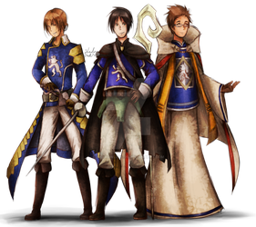 [BH] Three Cavaliers by ShadowLink720