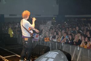 Ed Sheeran starting the gig by Prime-Vision