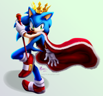 King Sonic by Myly14