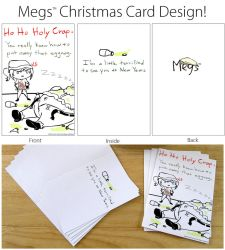 Megs Card Christmas Design - 1 by PrincePyro
