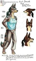 Keit Character Sheet by lantairvlea