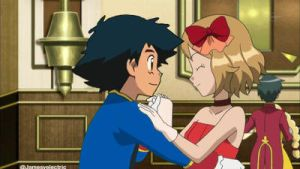 Ash and Serena Dance Party by Jamesvelectric