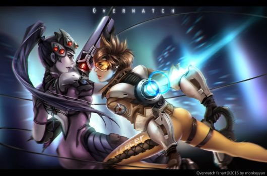 Overwatch - The Fight by monkeyyan