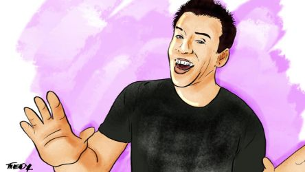 'Sup you Beautiful B-sterds! (PhillyD Fanart) by Tedzey71