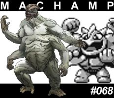 Machamp #068 by womack90