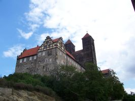 Castle Quedlinburg Stock by ValerianaSTOCK