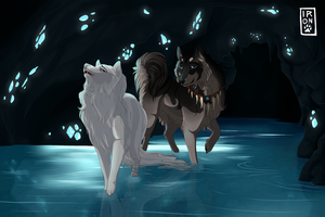 Moonstone Retrieval by IronclawsAndPaws