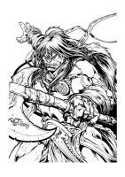 Conan Commission by pant inked by gz12wk