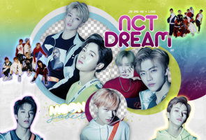 NCT DREAM (GO)-PNGPACK#2 by MoonSober