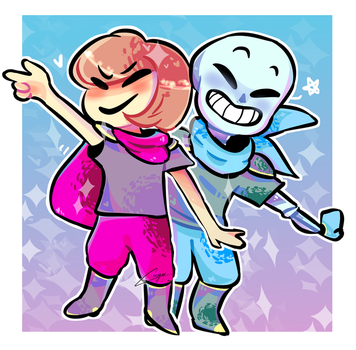 Frisk And Blue by agatha23