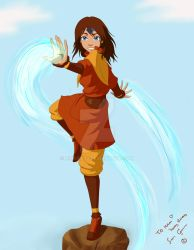 ATLA OC - Minaura by airgirl39