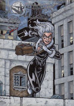 Black Cat - Fleer Ultra Spider-Man AP by tonyperna