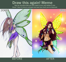 Draw this again Meme by Artrisy