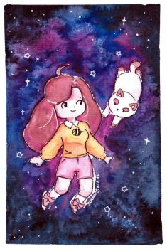 + Bee and Puppycat + by L-Y-N-S