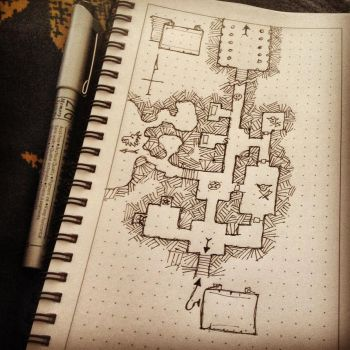 Dungeon map practice by billiambabble