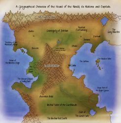A Geographical Overview of the Heart of the World by Valsalia