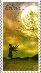 large faery stamp by faeriefriend
