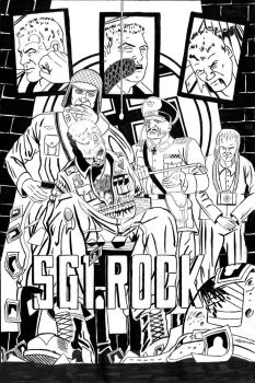 The legendary Sgt. Rock assignment. by John-Dylewski