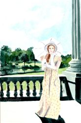 Miss Antonia Visits Pemberley by Virtuella