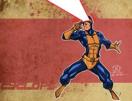 Cyclops color splash by JoeyVazquez