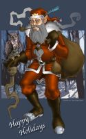 father christmas by big-trs