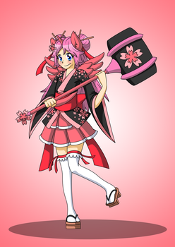 Magical Girl Commission by LankySandwich