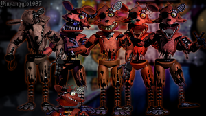 Fixed Withered Foxy Update by YinyangGio1987