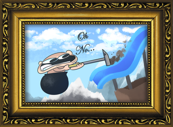 STREM - The Fun of Drawing - Getting Over It by SrPelo