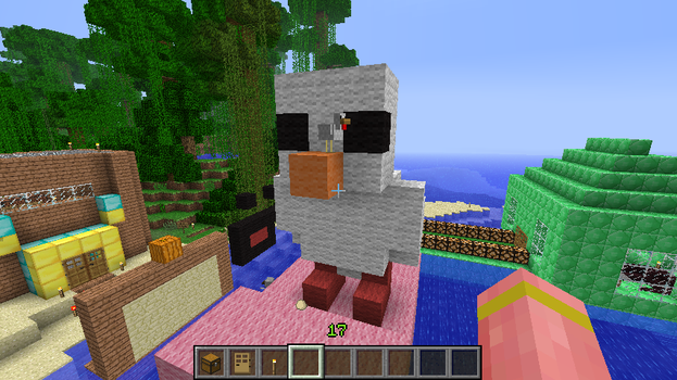 Little Chick In Minecraft by RachyTehPengie