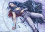 Death of a sorcerer (Cold Silence) by Ashdei-san