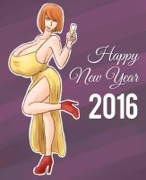 Happy New Year 2016 by RasBurton