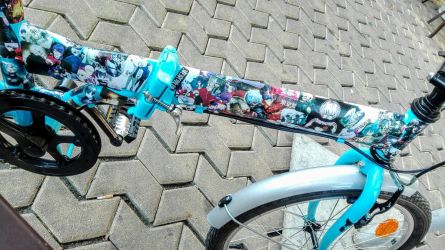 Tokyo Ghoul customized bike by madilusttra