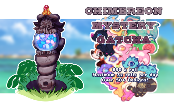 Chimereon Gatcha: CLOSED by ground-lion