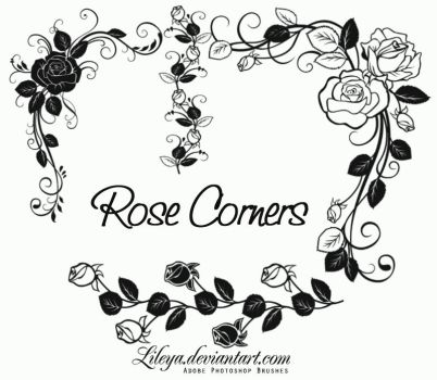 Rose Corners by Lileya